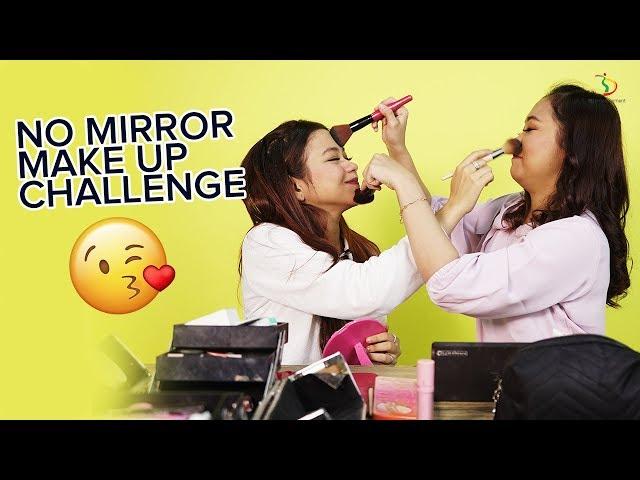 Selfi Rara No Mirror Make Up Challenge | #DangdutKepo