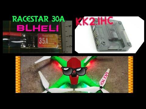 Racerstar SPROG X 35A BLheli_S 2-6S + KK2.1HC +bayangtoys x16 frame