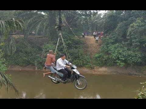 Lokasi Motor Menyeberang Sungai bak Flying Fox Ternyata di Riau, Ini Fakta-faktanya