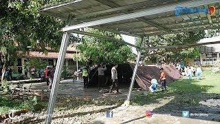 66 Siswa SD Negeri Selapura 02 Terpaksa Belajar di Tenda Darurat
