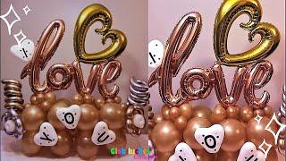 Bouquet De Globos Para San Valentin – Valentine Balloon Bouquet