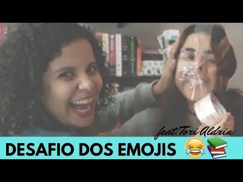 ADIVINHE QUAL É O LIVRO - DESAFIO DOS EMOJIS feat. TORI ALDRIN | VLOGMAS #3 | Livraneios