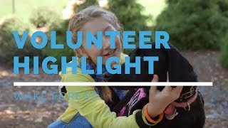 Wake Forest Puppy Raisers- SDWR Volunteer Highlight