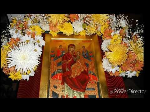 Сильная молитва при онкологии икона Божьей Матери  Всецарица (Пантанасса, то есть Всеповелительница)
