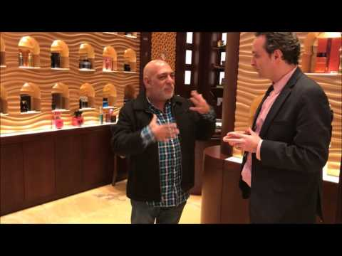 Tour of Arabian Oud Boutique Times Square NYC First Location In The USA