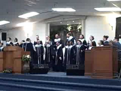 """He Won't Leave Me"" Apostolic Tabernacle Choir"