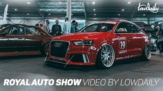 Royal Auto Show - Evil Empire 2016. Video by Lowdaily.