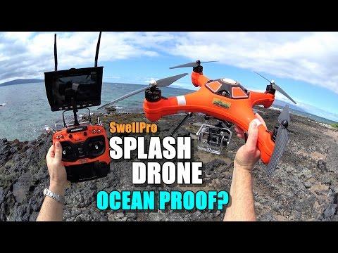 SwellPro Waterproof SPLASH DRONE Review – Part 3 – Ocean Proof?