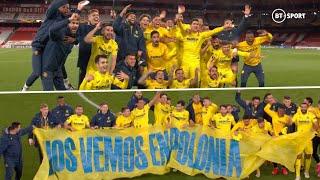 Amazing full-time scenes as Villarreal celebrate reaching FIRST-EVER European final