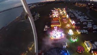 Southsea Common May Day Bank Holiday Fun Fair Opening Night 2019