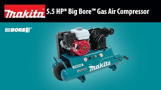 MAKITA 5.5 HP* Big Bore™ Gas Air Compressor - Thumbnail