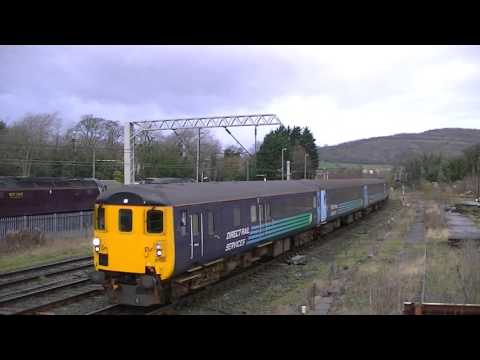 Northern Rail Loco Haulage DBSO 9705 tnt DRS 37423 2C32 Carnforth 251115