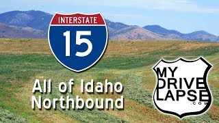 Every Inch of Interstate 15 in Idaho: Dashcam