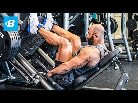 Ronnie Milo's MVP Leg Workout – Bodybuilding.com