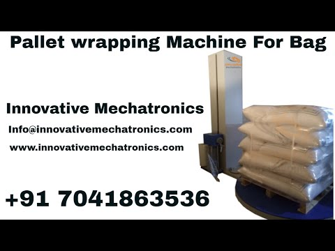 Power Pre-Stretch Pallet Wrapping Machine