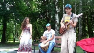 КитченКач - Чемоданы (live @ Фримаркет в ЦПКиО 24.07.2016)