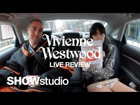 Vivienne Westwood: Autumn / Winter 2019 Womenswear Live Review