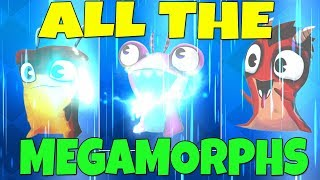 ALL THE MEGAMORPHS - EVOLVING ALL SLUGS - NEW UPDATE Slugterra Slug It Out 2 (Bajoterra)