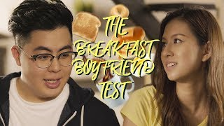 The Breakfast Boyfriend Test - How he is based on what he SERVES