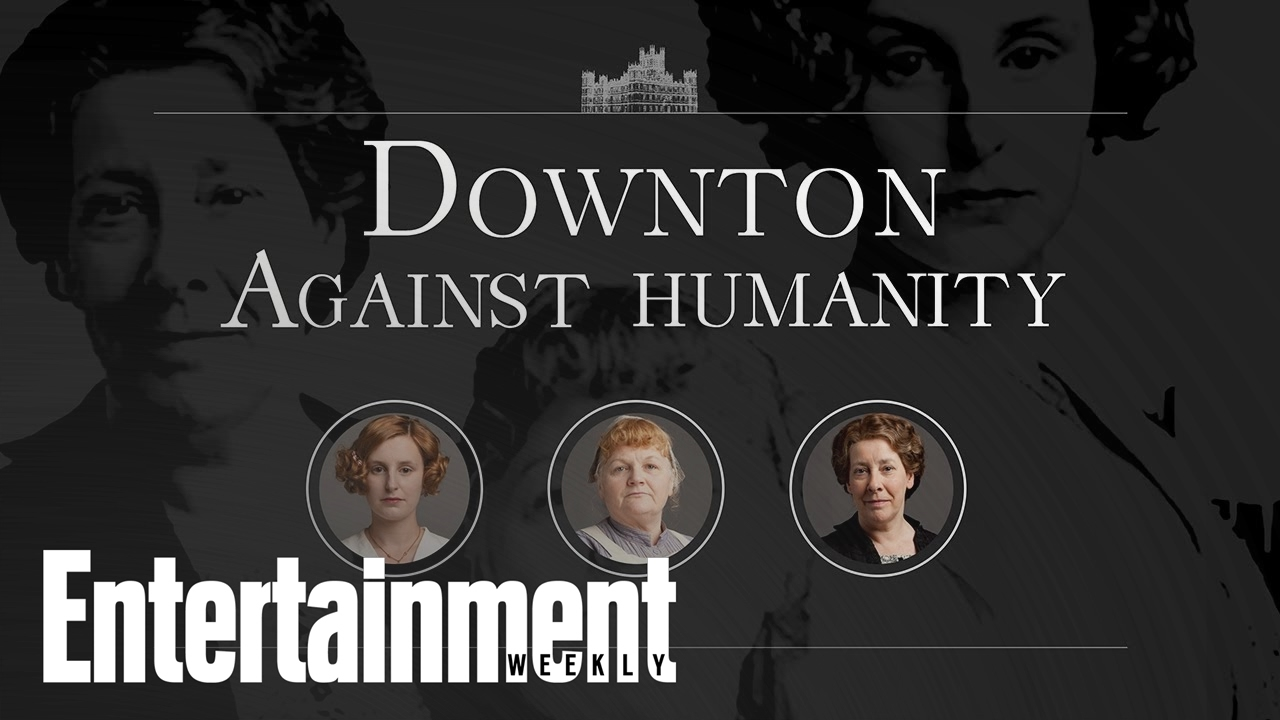 Cards Against Humanity, As Played By The Ladies Of Downton Abbey