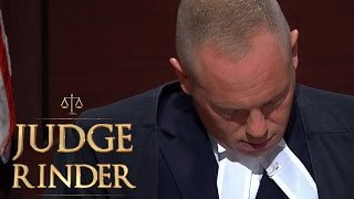 Judge Rinder Falls Asleep Listening To Boring Story! | Judge Rinder
