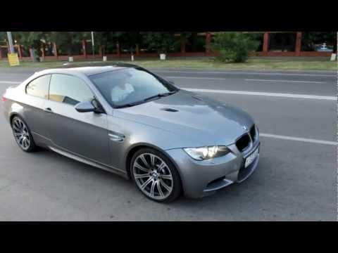 BMW M3 e92 burnout donuts drift