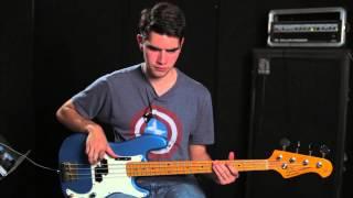 "COS Bass Tutorial for ""We can change the world"" by Matt Redman"