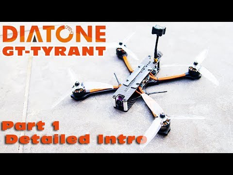 Detailed introduction of this awesome Diatone Freestyle Quad :)