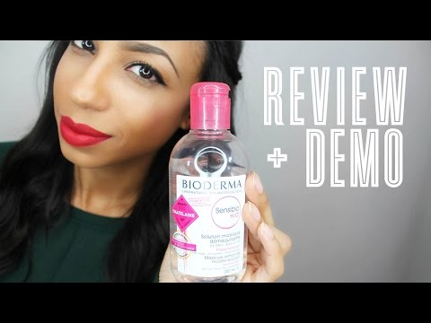 REVIEW & DEMO | Bioderma Sensibio H2O from Beautylish