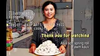 Soft Noodle Rolls (Fawm Kauv)