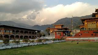 preview picture of video 'Mila's nine storey monastery | short video of bhutan trip l bhutan trip'