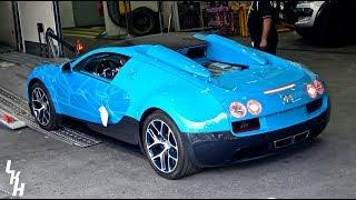 We Found The Transformers Bugatti Veyron Vitesse! [Monaco Supercar Insanity #12]
