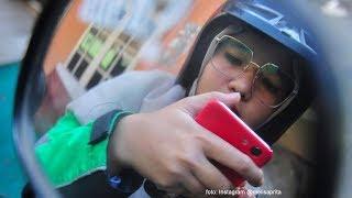 Viral Driver Ojol Mirip Nissa Sabyan, Suka Aktif Kegiatan Sosial