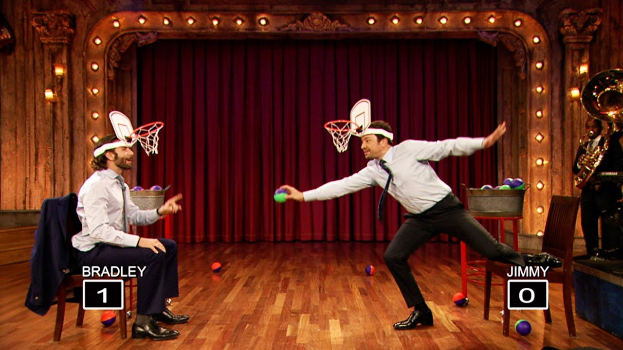 Faceketball with Bradley Cooper and Jimmy Fallon (Late Night with Jimmy Fallon) thumbnail