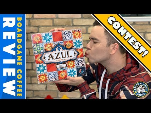 Azul Review with Board Game Coffee
