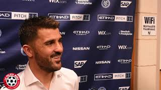 Entrevista de David Villa
