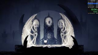 Hollow Knight Any% No Storage OOB Speedrun - 27:06 loadless