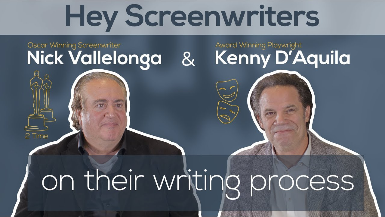 Vallelonga & D'Aquila: Chip Away at Your Script Until It Looks Like 2 Oscars