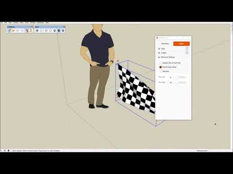 Download Real Cloth Simulation In Sketchup With Clothworks