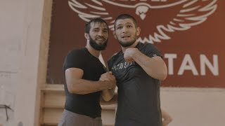 (The Dagestan Chronicles)  Khabib Nurmagomedov & Zubaira Tukhugov Grapple - Episode 5