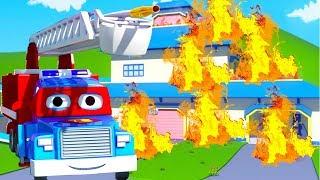 Carl xe cứu hỏa  - Carl và Xe Nâng  🚚