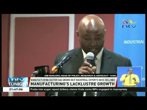 Manufacturing sector experiences growth as Industrial exports decline