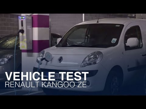 Renault  Kangoo Ze Минивен класса M - рекламное видео 3