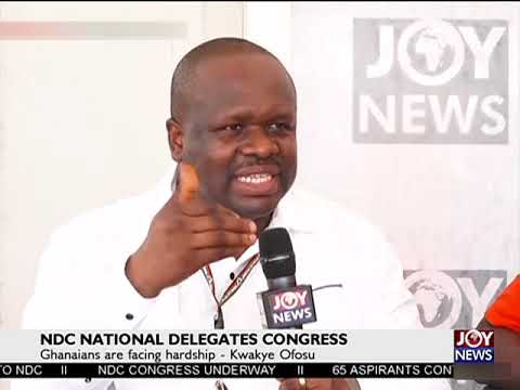 NDC DELEGATES CONGRESS: 'We laid a strong foundation' - Omane Boamah. (17-11-18)