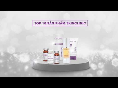 SkinClinic - Top 10 sản phẩm bán chạy nhất 2018