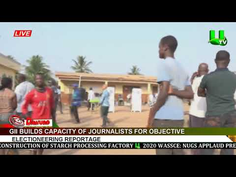 GII builds capacity of journalists for objective electioneering reportage