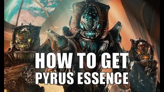 Warframe how to get Pyrus and Trembera Essence | Warframe the Pyrus Project