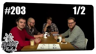 [1/2] Almost Plaily #203 | Nobody's Perfect mit Etienne, Colin, Alwin und Ben | 24.10.2015