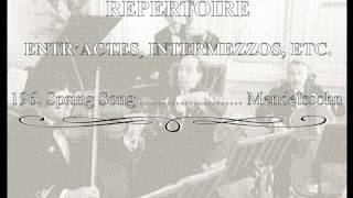 White Star Line Music 196.- Spring Song
