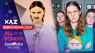 Eurovision 2020: Recap of All Songs